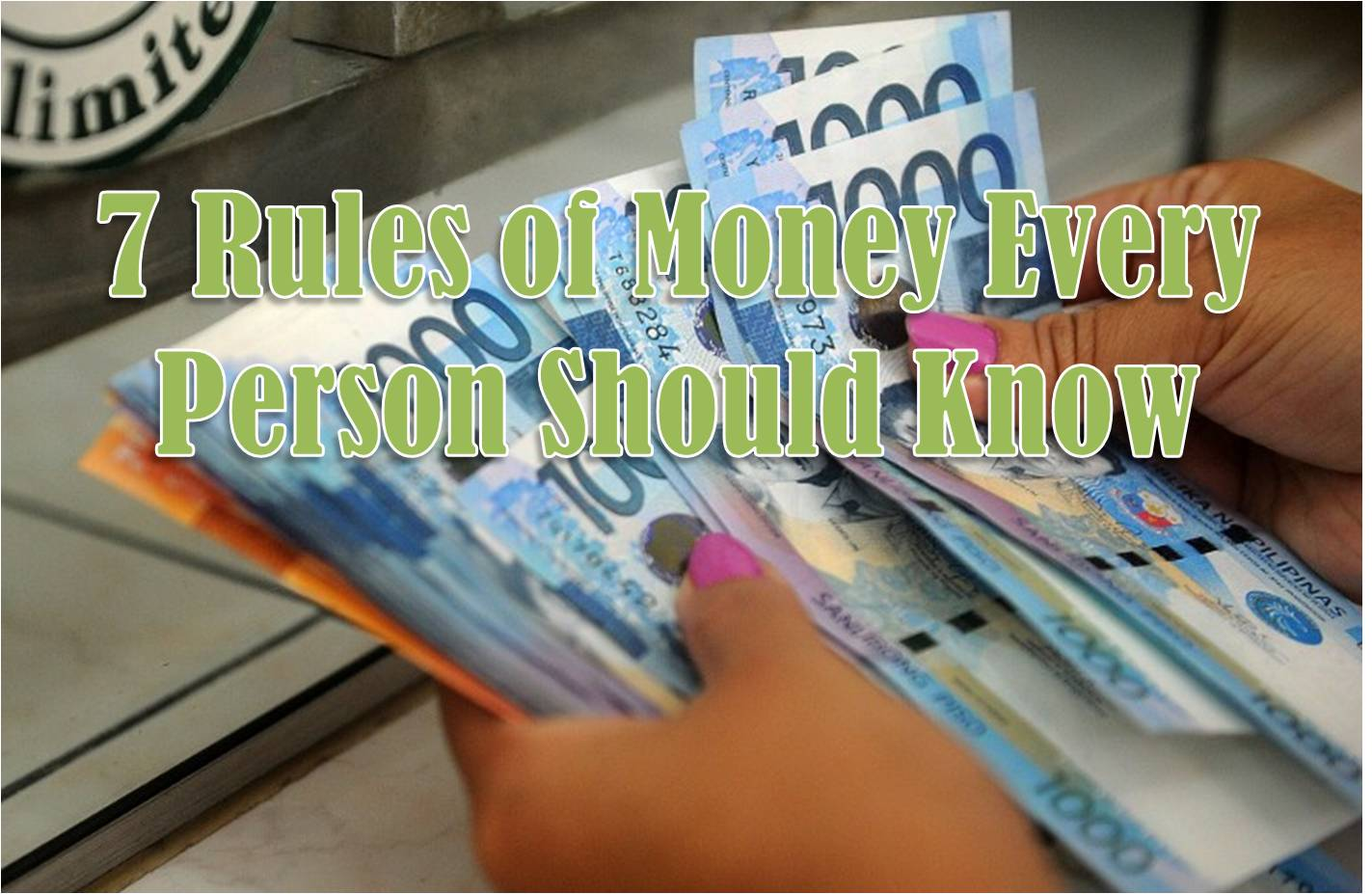 7 rules of money