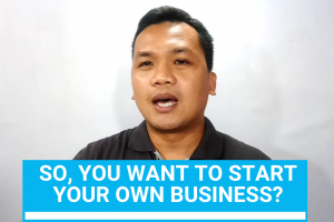so you want to start your own business
